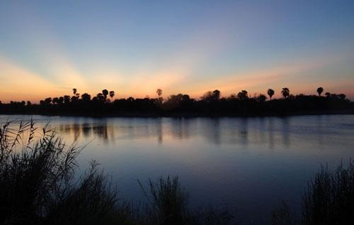 Bentsen Rio-Grande State Park sunset, for Sound Map