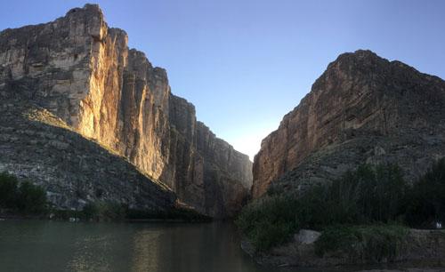santa elena canyon for sound map