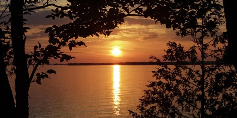 Lake Ontario Scene by Lang Elliott