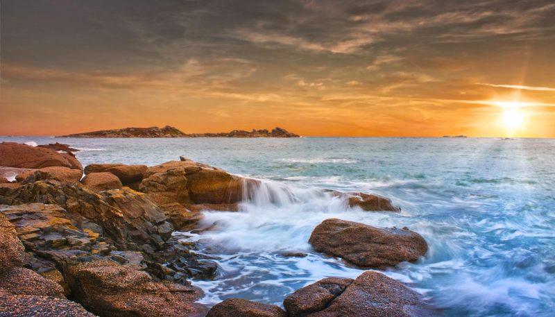 Island Wavescape - track art - Elementals Album
