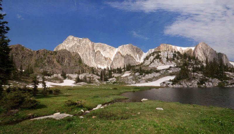 Mountain Freshet - track art