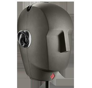 Neumann KU-100 binaural microphone setup