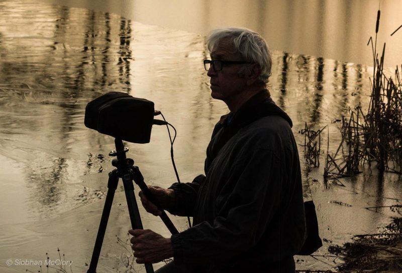lang recording at pond - © Siobhan McClory