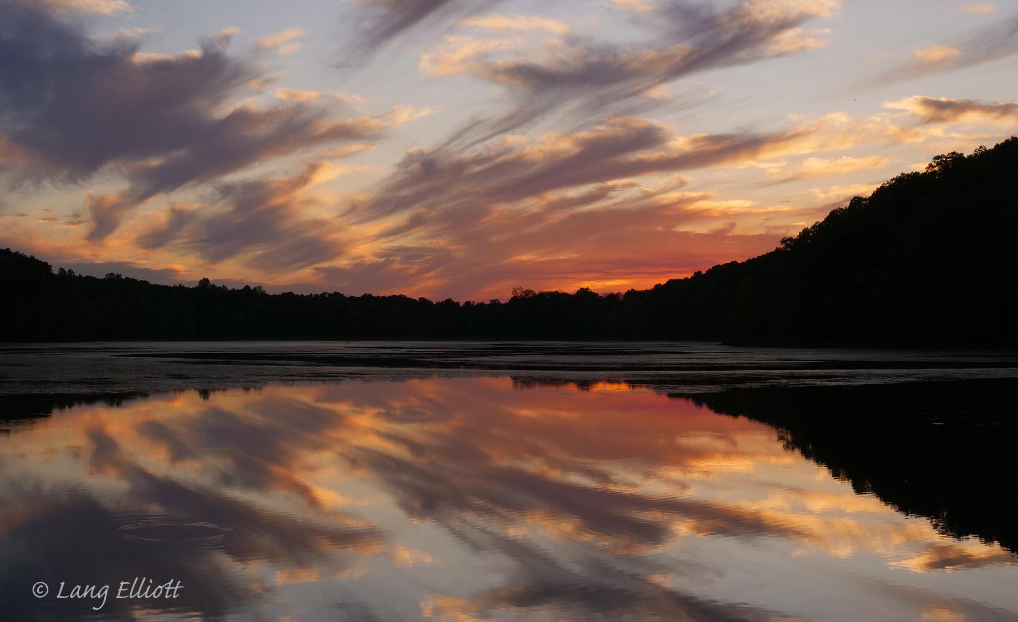 photo of Hematite Lake at Dusk